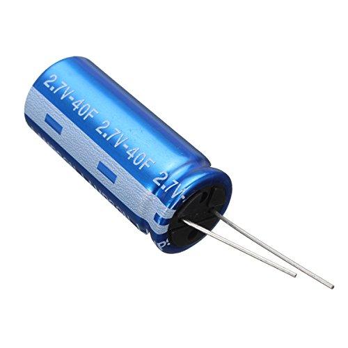 ILS - 1841mm 2.7V 40F Cylindrical Super Farad High Power Supercap Ultra Capacitor (40 Farad Digital Capacitor)