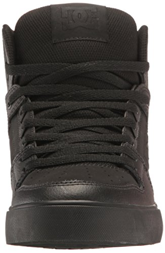 DC Shoes Men's Spartan High WC Hi Top Shoes Black Black (XKKK)