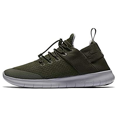 Nike Womens Free RN CMTR 2019 Running Shoe (7 M US, Sequoia/Sequoia) | Running