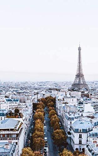 Notebook: Paris Eiffel Tower France architecture street view france paris métro seine napoleon