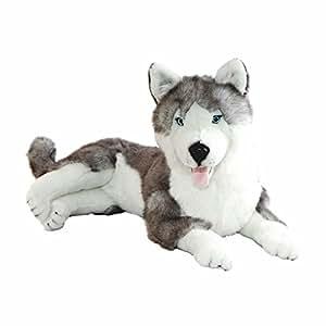 bocchetta plush toys husky stuffed animal plush toy extra large rocco toys games. Black Bedroom Furniture Sets. Home Design Ideas