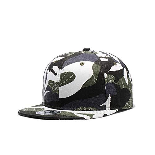 LONIY Camo Snapback Caps New Flat Designer Adjustable Hip Hop Hats for Men Women Camouflage Baseball Bboy Cap ()