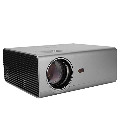 Video Projector -Portable Mini RD-825 4.3 inch Movie Projector for Home Theater/Office - HD 1080P 100-level LCD Projector Support HDMI/USB/AV/VGA/TV Box/Game Console(US Plug) from Sanpyl