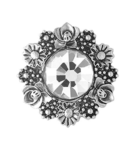Ginger Snaps Bouquet Clear SN11-27 (Standard Size) Interchangeable Jewelry Accessories