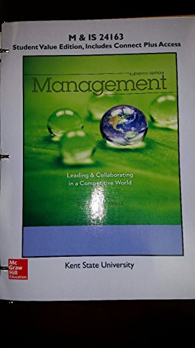 management leading collaborating in a Management: leading & collaborating in a competitive world (11th edition) pdf book, by thomas bateman, isbn: 0077862546, genres: management.
