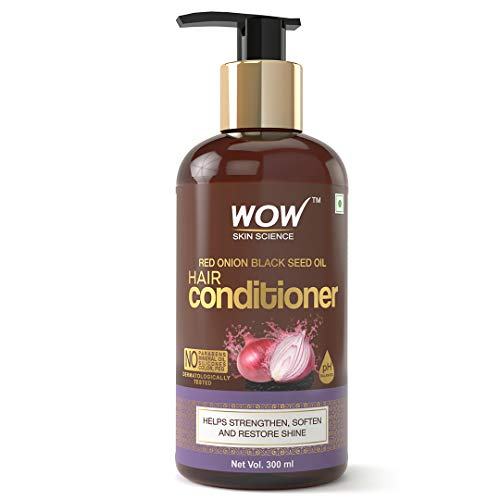 WOW Skin Science Onion Conditioner With Red Onion Seed Oil Extract, Black Seed Oil & Pro-Vitamin B5 – No Parabens…