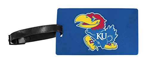 Kansas Jayhawks Luggage Tag 2-Pack by R and R Imports