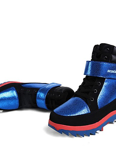 XZZ/ Damen-Stiefel-Outddor / Kleid / Lässig-Leder-Keilabsatz-Komfort / Stifelette / Modische Stiefel / Passende Schuhe & Taschen / Rollschuh black-us7.5 / eu38 / uk5.5 / cn38