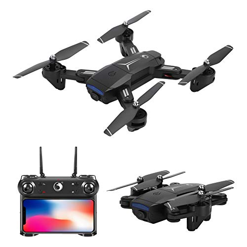 U`King Drone with 1080P camera HD WiFi live Transmission ,RC Quadrocopter Remote Controlled with Altitude Hold + 2.4 GHz…