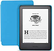 Kindle Kids Edition - Includes access to thousands of books - Blue Cover