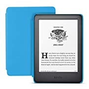 Kindle Kids Edition, a Kindle designed for kids, with parental controls – Blue Cover