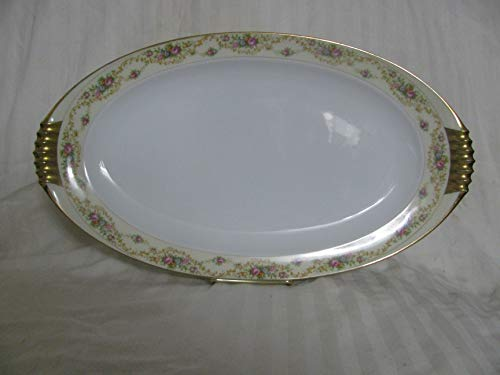 Meito Modern Windsor Oval Serving Platter 14 3/4