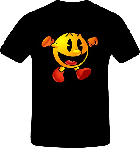 pacman-thums-up-custom-tshirt-4xl-black