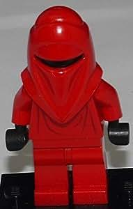LEGO Star Wars: Imperial De La Guardia Real Minifigura Con Lanza De Negro