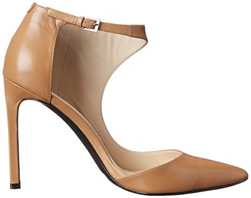 Nine West mujer Hannigan Suede Ankle Bootie Natural