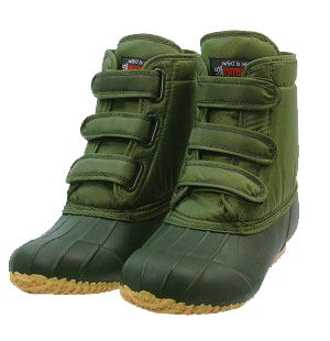 Tayberry Olive Green Ladies Velcro Garden Boots Size 11 Amazon