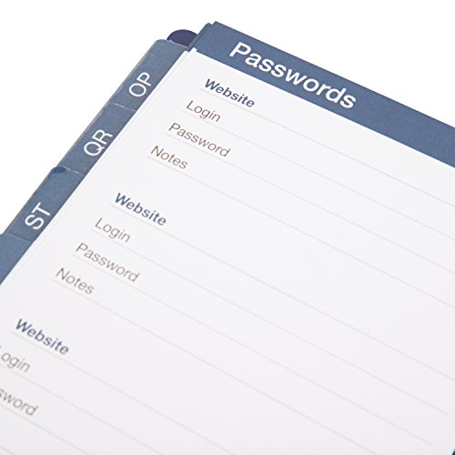 planahead see it bigger telephone address book large print with
