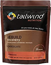 Tailwind Nutrition Grab-and-Go Rebuild Recovery Single-Serving Assortment, Chocolate, Vanilla, and Coffee Flavor Sports Drinks