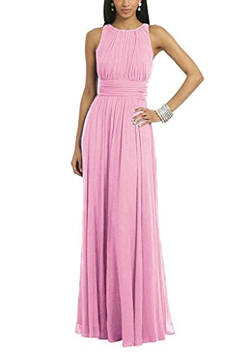 ses Long for Women Formal Evening Party Prom Gown Pink US18W (Bonny Bridal Dresses)