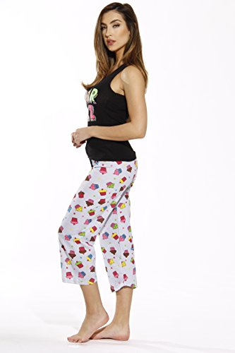 Just Love 6329-10008-XL Capri Sets/Women Sleepwear/Womans Pajamas/PJS by Just Love (Image #1)'