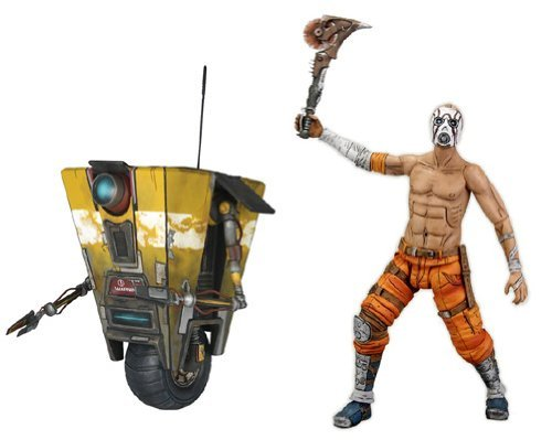 Thing need consider when find borderlands mask psycho bandit?