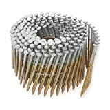 Hitachi 12236 2-1/2'' x .131 SM Full Round Head Brite Basic Wire Coil Framing Nails (4500 Count)