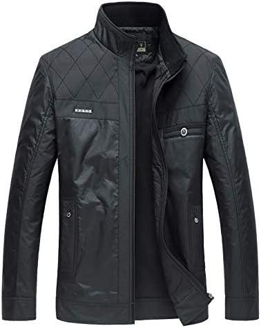 男性ジャケット男カジュアルスリムフィット襟ソリッドコートM-4xlメンズファッションオーバーコート服