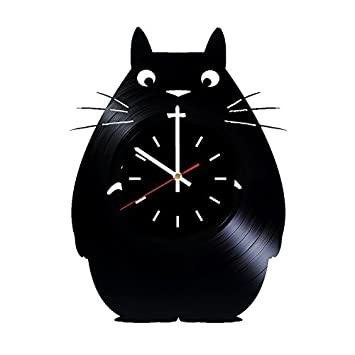 Studio Ghibli My Neighbor Totoro Vinyl Wall Clock - Get Unique Kitchen Wall  Decor - Gift 7ccddf0471