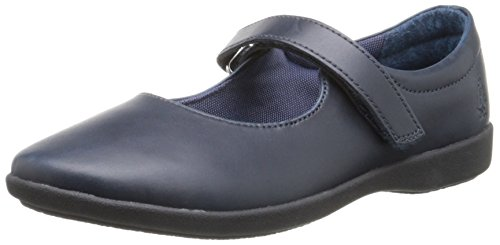 Image of Hush Puppies Lexi Uniform Mary Jane (Toddler/Little Kid/Big Kid), Navy, 9 M US Toddler