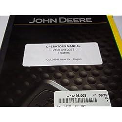 John Deere 2150 & 2255 Tractors OML39646 Issue