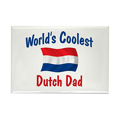 CafePress - Coolest Dutch Dad Rectangle Magnet - Rectangle Magnet,