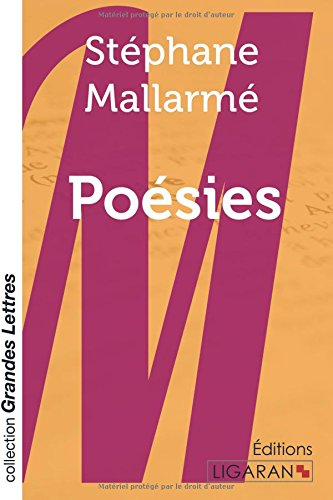 Poesies  [Mallarme, Stephane] (Tapa Blanda)