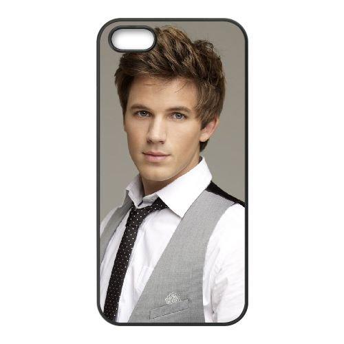 Dashing Matt Lanter Wide coque iPhone 4 4S cellulaire cas coque de téléphone cas téléphone cellulaire noir couvercle EEEXLKNBC24433