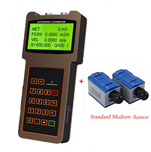 Handheld Ultrasonic Flowmeter TUF-2000H Digital Liquid for sale  Delivered anywhere in Canada