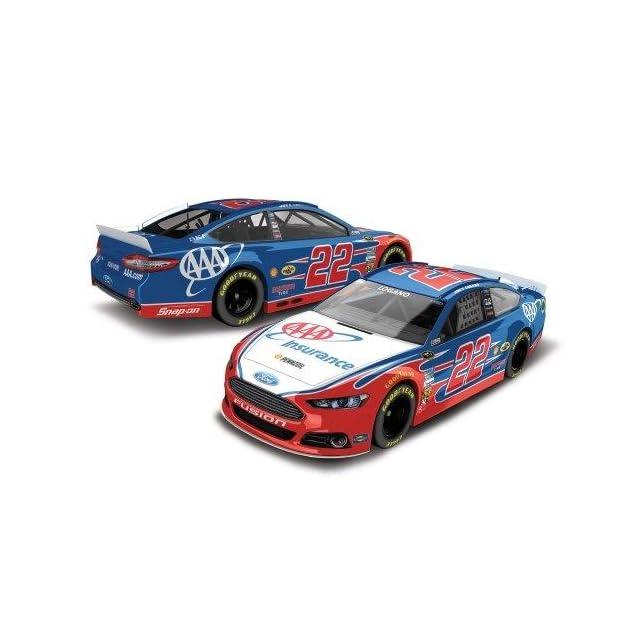Joey Logano #22 AAA Ford Fusion 2014 NASCAR Diecast Car, 124 Scale HOTO
