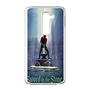 Sword in the Stone Case Cover For LG G2 Case