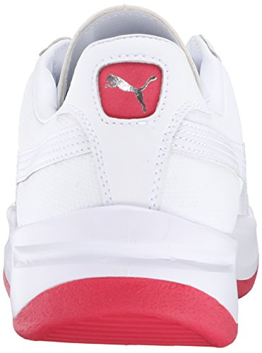 PUMA Mens GV Special Coastal Lace-Up Fashion Sneaker Teaberry Red/White f8co2
