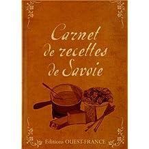 CARNET DE RECETTES DE SAVOIE