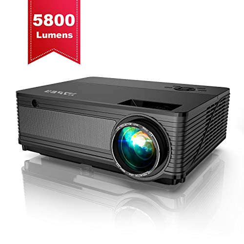 Projector, YABER Native 1080P Projector 5800...