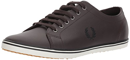 Fred Perry Kingston Leather Dark Chocolate