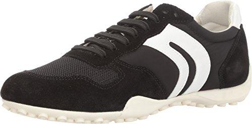 Geox D Snake A, Women's Low-Top Sneakers, Black (Blackc9999), 2.5 UK (35 - Womens Geox Snake