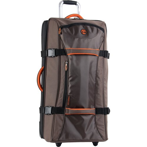 Timberland Luggage Twin Mountain 30 Inch Wheeled Duffle, Cocoa, One Size by Timberland