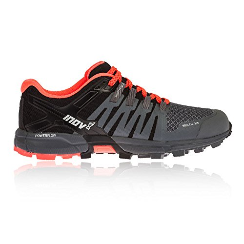 Inov-8 Womens Roclite 305 Running Shoe Grey / Black / Coral