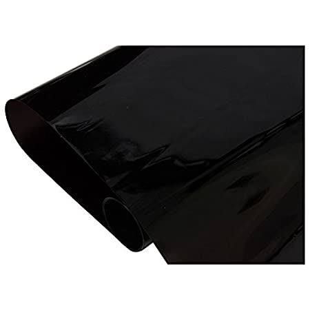 Gaosheng Film de Protection Solaire Autocollant pour r/étroviseur de Voiture Noir 50 cm x 3 m