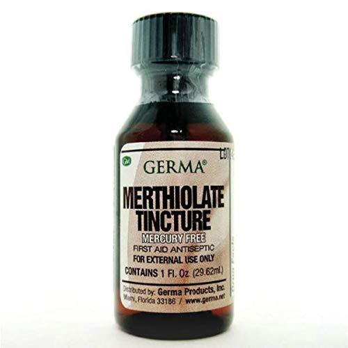 Germa Merthiolate Tincture Antiseptic 1 oz