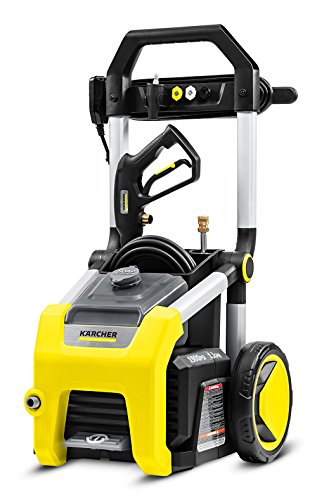 (Karcher K1900 Electric Power Pressure Washer 1900 PSI TruPressure, 3-Year Warranty, Turbo Nozzle Included)