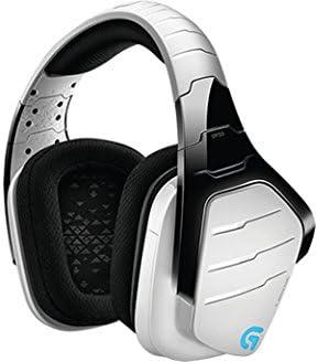 Logitech G933 Artemis Spectrum - Auriculares con micrófono para gaming, sonido envolvente profesional 7.1 y tecnología inalámbrica de 2,4 GHz para PC, Xbox One y PS4, Blanco: Logitech: Amazon.es: Informática