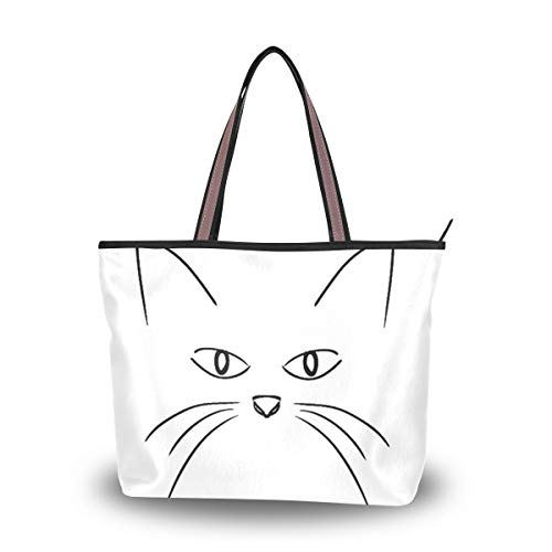 Women's Tote Bag With Funny...