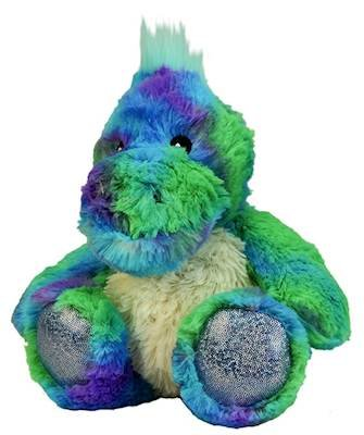 DINOSAUR JUNIOR WARMIES Cozy Plush Heatable Lavender Scented Stuffed Animal