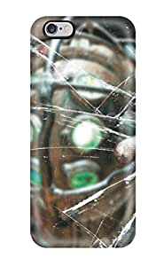 Durable Defender Case For Iphone 6 Plus Tpu Cover(bioshock Artistic Glass Hand Abstract Artistic)